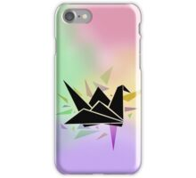 Origami Crane iPhone Case/Skin
