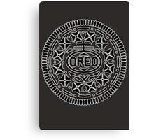 Oreo Logo Canvas Print