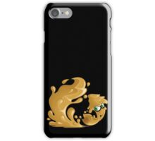 gold inkling iPhone Case/Skin