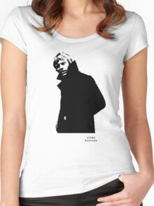 Iconic Stars Robert Redford Women's Fitted Scoop T-Shirt