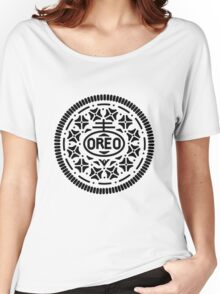 Oreo Logo Women's Relaxed Fit T-Shirt