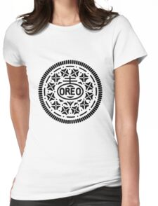 Oreo Logo Womens Fitted T-Shirt