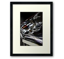 Scratched ... Framed Print