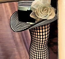 Fishnet With Hat by SuddenJim