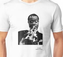 Iconic Stars Louis Armstrong Unisex T-Shirt