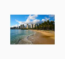 Hawaii - Oahu Island, Honolulu Waikiki Beach Panorama T-Shirt