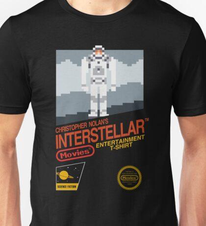 8-bit Interstellar Unisex T-Shirt