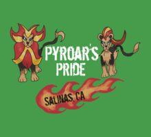"""Pyroar's Pride"" - Salinas, CA Pokemon League One Piece - Short Sleeve"