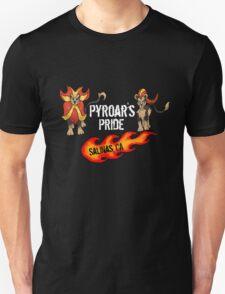 """Pyroar's Pride"" - Salinas, CA Pokemon League T-Shirt"