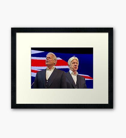 """""""We Are Australian"""" Framed Print"""