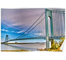 Verrazano Bridge HDR1 Poster