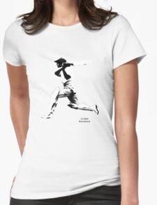 Iconic Stars Don Bradman Womens Fitted T-Shirt