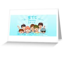SUMMER VACATION 2015 Greeting Card