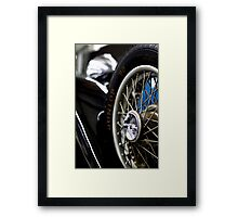 Lock nut Framed Print