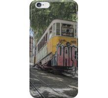 Lisbon Train Car 2 iPhone Case/Skin