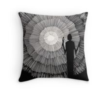 148 - JOURNEY INTO LIGHT - DAVE EDWARDS - 1988 - PEN & INK Throw Pillow