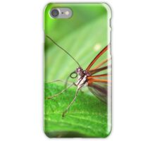 Open Wings Glasswing - Greta Oto iPhone Case/Skin