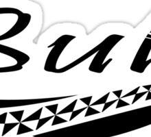 BULA // BLACK LOGO Sticker