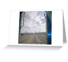All Aboard the Holga Train  Greeting Card