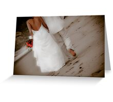 Bride and Groom  - San Pancho Greeting Card