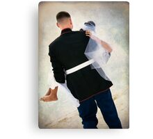 Strength and Tenderness Canvas Print