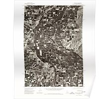 USGS Topo Map Idaho Payette 237583 1974 24000 Poster