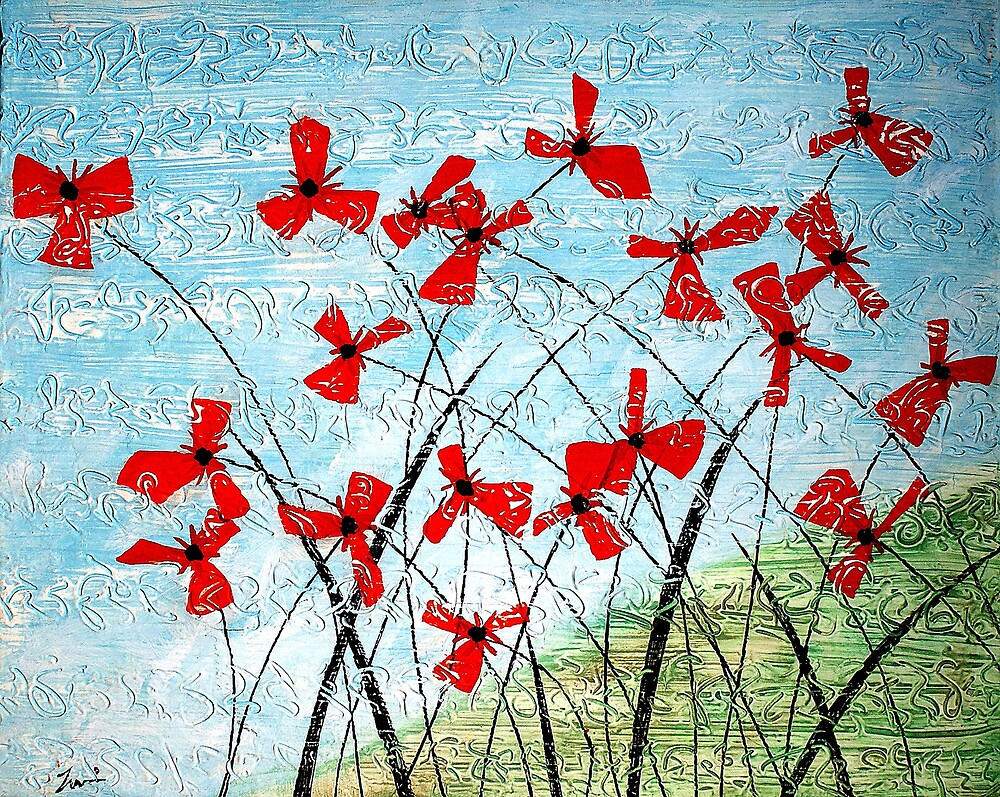 Poppies Of Mesopotamia by ☼Laughing Bones☾