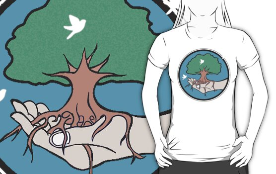 RECYCLE MOTHER EARTH: PLANT TREES by SOL  SKETCHES™