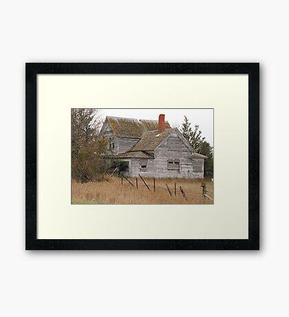 Deserted House Framed Print