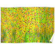 Impressionist meadow Poster