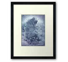Blue Light Framed Print