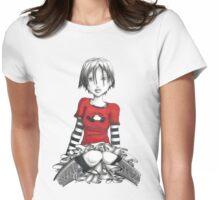 Lazy Panda Womens Fitted T-Shirt