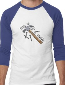 This Is Not A Drill Men's Baseball ¾ T-Shirt