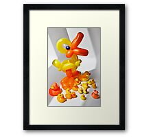 'Royal' Duck joins the group! Framed Print