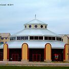 """Silver Beach Carousel Building"" by Deb  Badt-Covell"