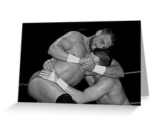 The Wrestlers Greeting Card