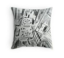 Staithes North Yorkshire Throw Pillow