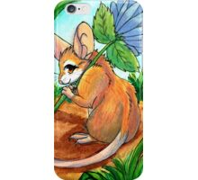 Chicory Picking iPhone Case/Skin