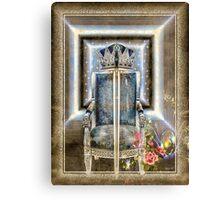 ROYAL GOLDEN SWORD Canvas Print