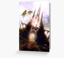 Dragon spire Greeting Card