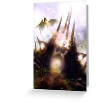 Dragon spire Greeting Card