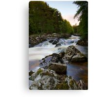 The Falls of Feugh at Banchory Aberdeenshire Canvas Print