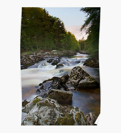 The Falls of Feugh at Banchory Aberdeenshire Poster