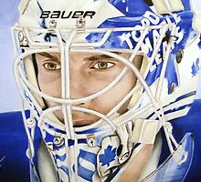 Jonas Gustavsson (Toronto Maple Leafs) by Graham Beatty