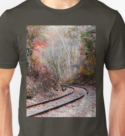Autumn Tracks Unisex T-Shirt