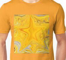 Bright Shiny Gold Star Unisex T-Shirt