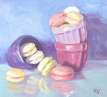 Petits Macarons by Rodica Voicu
