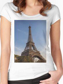 Eiffel Tower (Paris) Women's Fitted Scoop T-Shirt
