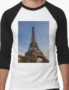 Eiffel Tower (Paris) Men's Baseball ¾ T-Shirt