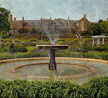 Masonic Lodge & Formal Gardens, Masonic Village Elizabethtown, PA by Lanis Rossi